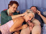 Menage a trois con il nonno e la nonna